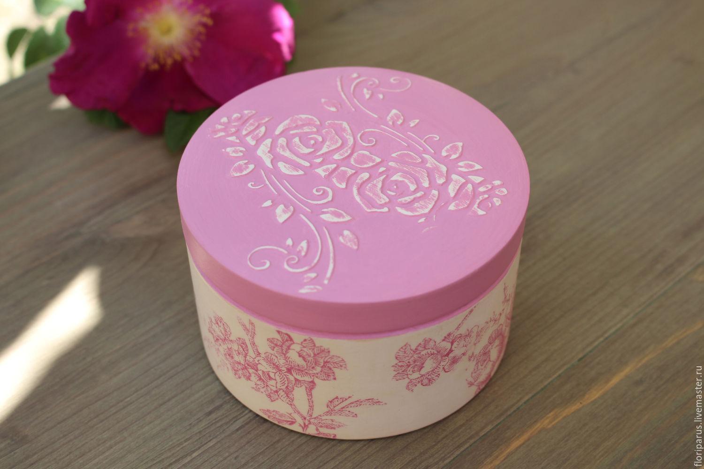 Trinket box Pink Tenderness, Box, St. Petersburg,  Фото №1
