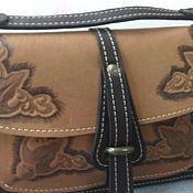 Сумки и аксессуары ручной работы. Ярмарка Мастеров - ручная работа сумка кожаная  Д3 (сумка из кожи). Handmade.