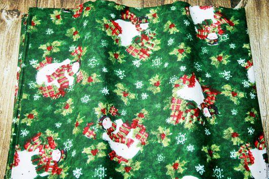 Шитье ручной работы. Ярмарка Мастеров - ручная работа. Купить США Рождество Хлопок 100%. Handmade. Ткань новый год