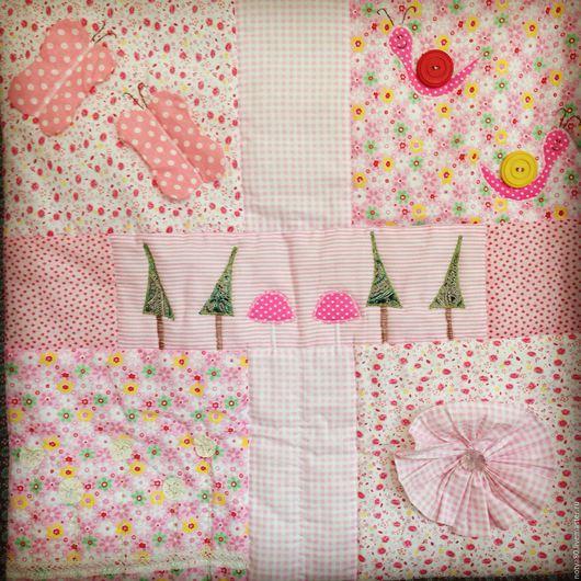 """Пледы и одеяла ручной работы. Ярмарка Мастеров - ручная работа. Купить Покрывало """"Волшебный лес"""". Handmade. Одеяло пэчворк"""
