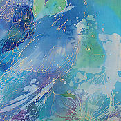Картины и панно handmade. Livemaster - original item Blue birds. Handmade.