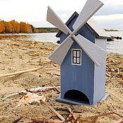 """Для дома и интерьера ручной работы. Ярмарка Мастеров - ручная работа Чайный домик """"Ветряная мельница"""". Handmade."""