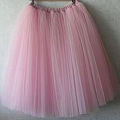 Одежда ручной работы. Ярмарка Мастеров - ручная работа фатиновая юбка пачка. Handmade.