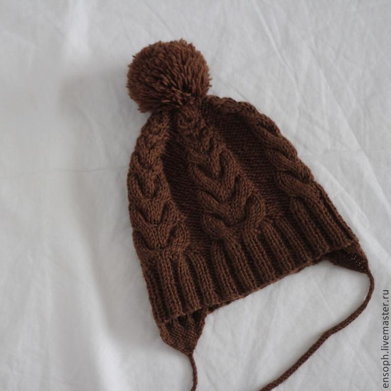 Вязание завязок для шапочки