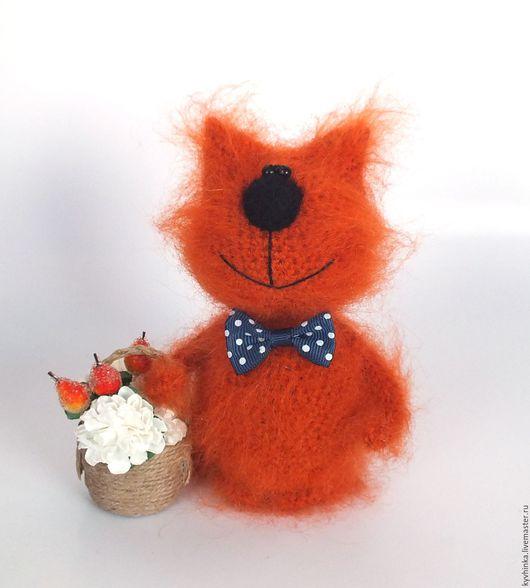 Игрушки животные, ручной работы. Ярмарка Мастеров - ручная работа. Купить Кот Ивашка (вязаный кот, игрушка, подарок). Handmade.