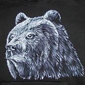 Одежда handmade. Livemaster - original item Sweatshirt custom Bear.. Handmade.