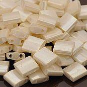 Материалы для творчества ручной работы. Ярмарка Мастеров - ручная работа Миюки ТИЛА 592 opaque ceylon antique ivory pearl 10гр. Handmade.