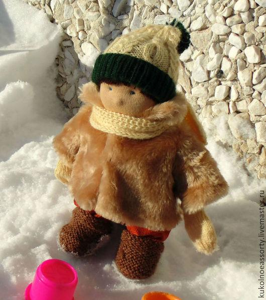 Вальдорфская игрушка ручной работы. Ярмарка Мастеров - ручная работа. Купить Кирюша. Handmade. Оранжевый, подарок на день рождения