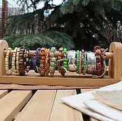 """Дизайн и реклама ручной работы. Ярмарка Мастеров - ручная работа Подставка для браслетов  """"Прованс"""". Handmade."""