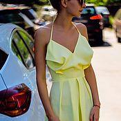 handmade. Livemaster - original item Dress silk summer