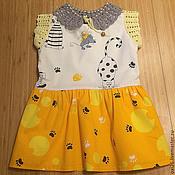 """Работы для детей, ручной работы. Ярмарка Мастеров - ручная работа платье """"Кошки-мышки"""". Handmade."""