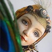 Куклы и игрушки ручной работы. Ярмарка Мастеров - ручная работа Шарнирная кукла- светильник Одалиска. Handmade.