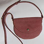 Сумки и аксессуары handmade. Livemaster - original item Nubuck Redbag handbag.. Handmade.
