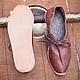 Обувь ручной работы. Средневековые кожаные женские туфли с тиснением. Berkanar Studio. Ярмарка Мастеров. Средневековая обувь, кожаный шнурок