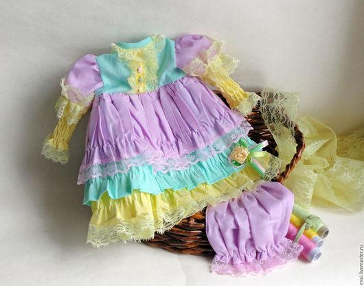 Одежда для кукол ручной работы. Ярмарка Мастеров - ручная работа. Купить Одежда для куклы-принцессы Диснея Банановый коктейль. Handmade.