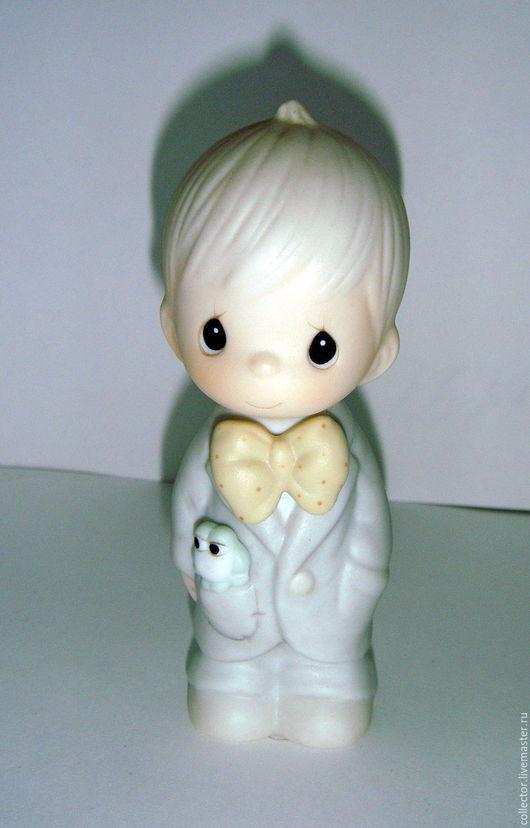 """Винтажные предметы интерьера. Ярмарка Мастеров - ручная работа. Купить Коллекционная статуэтка  """"Best man"""". Handmade. Комбинированный, для коллекции, подарок"""