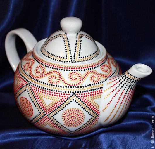 чайник заварочный, подарок  маме, теще, жене, свекрови, чайник заварной, посуда керамика, подарок хозяйке, кухонный интерьер, сервировка стола, чайная посуда, для сервировки, украшение