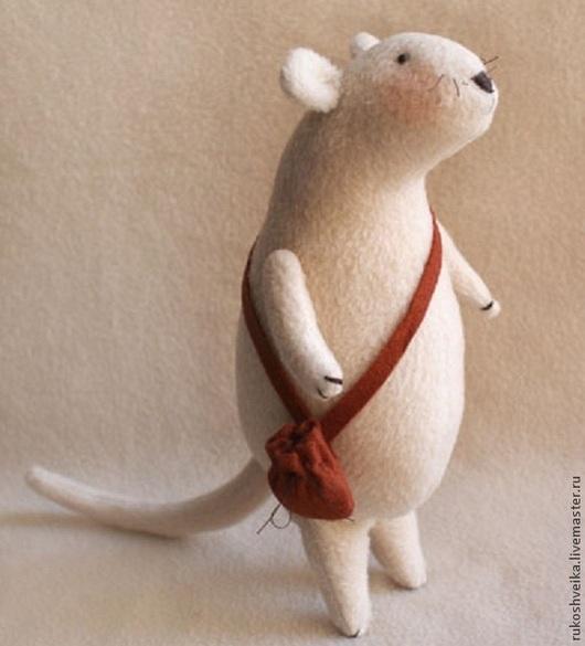 Куклы и игрушки ручной работы. Ярмарка Мастеров - ручная работа. Купить Набор для изготовления текстильной игрушки MOUSE STORY. Handmade.