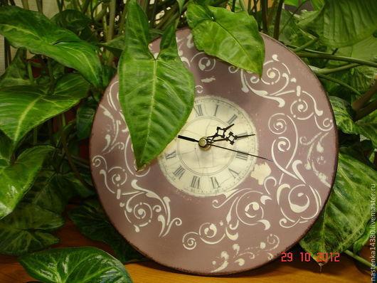 Часы для дома ручной работы. Ярмарка Мастеров - ручная работа. Купить часы Винтаж. Handmade. Часы, подарок женщине