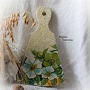 Посуда handmade. Livemaster - original item Cutting Board made of solid pine