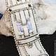 """Браслеты ручной работы. Ярмарка Мастеров - ручная работа. Купить Браслет из делики """"Хрусталь"""". Handmade. Белый, миюки, свадебный браслет"""