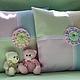 Текстиль, ковры ручной работы. Ярмарка Мастеров - ручная работа. Купить Детские подушки Забавная геометрия для интерьера и сна. Handmade.