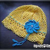 Работы для детей, ручной работы. Ярмарка Мастеров - ручная работа Летняя шапочка. Handmade.