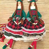 Куклы и игрушки ручной работы. Ярмарка Мастеров - ручная работа Кукла тильда новогодний ангел. Handmade.