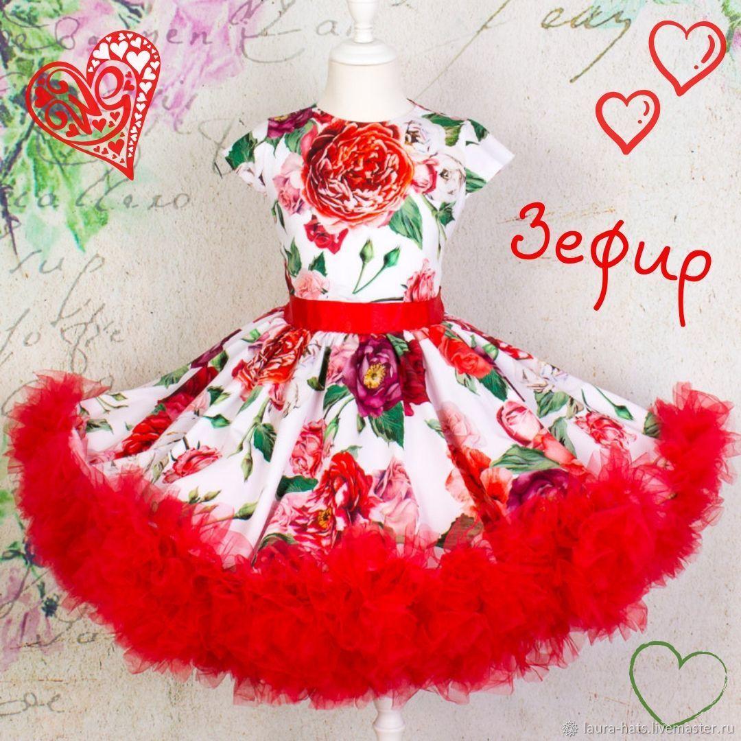 Одежда для девочек, ручной работы. Ярмарка Мастеров - ручная работа. Купить Платье для девочки Зефир Платье для девочки в стиле Стиляги. Handmade.