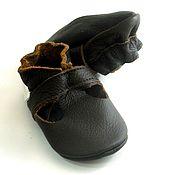 Работы для детей, handmade. Livemaster - original item Baby Shoes,Ebooba,Leather Baby Shoes,Baby Moccasins. Handmade.