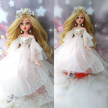 """Куклы и игрушки ручной работы. Ярмарка Мастеров - ручная работа Кукла """"Снегурочка"""" Ооак, Шарнирная, Большая. Handmade."""