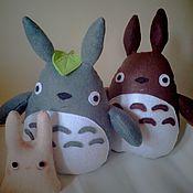 Куклы и игрушки ручной работы. Ярмарка Мастеров - ручная работа Тоторо мягкая игрушка. Handmade.