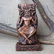 Для дома и интерьера handmade. Livemaster - original item Kernunn, Wooden statuette, Celtic god made of wood. Handmade.