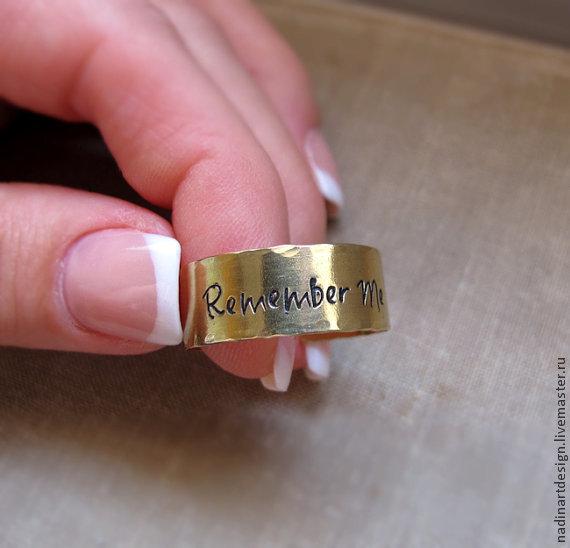 Оригинальное кольцо унисекс