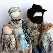 """Куклы и игрушки ручной работы. Ярмарка Мастеров - ручная работа """"Счастливое семейство"""". Handmade."""