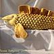 Текстиль, ковры ручной работы. Подушка рыба золотая. Евгения  jzhem (буфы и шаблоны). Ярмарка Мастеров. Подушка игрушка
