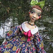 Куклы и игрушки ручной работы. Ярмарка Мастеров - ручная работа Лизавета...Подвижная кукла из папье маше. Handmade.