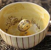 """Посуда ручной работы. Ярмарка Мастеров - ручная работа Кружка """" Левушка"""". Handmade."""