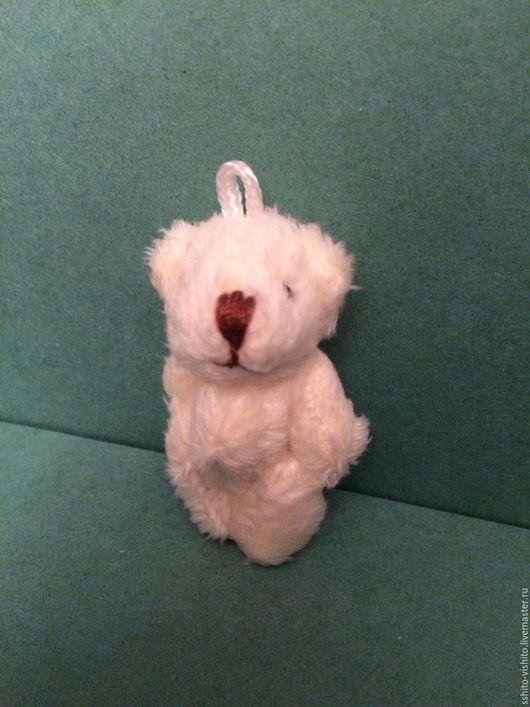 Куклы и игрушки ручной работы. Ярмарка Мастеров - ручная работа. Купить Мишка плюшевый для кукол 4,5 см. Handmade.