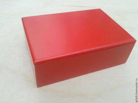 Копилки ручной работы. Ярмарка Мастеров - ручная работа. Купить Шкатулка деревянная красная ШФО - 80-50-30 К. Handmade.
