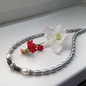 Украшения handmade. Livemaster - original item Necklace of pearls