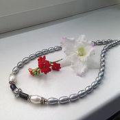 Украшения handmade. Livemaster - original item Necklace of pearls