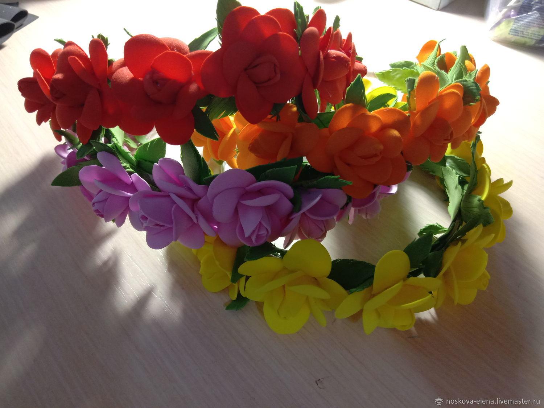 Цветочные ободочки ))), Аксессуары для фотосессии, Керчь,  Фото №1