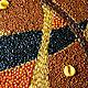 Абстракция ручной работы. Форма 349nb11cd77чц. Александр (Zernokzerno). Интернет-магазин Ярмарка Мастеров. Абстрактный, фигура, круг, овал, рис