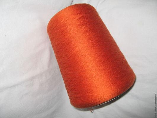 Вязание ручной работы. Ярмарка Мастеров - ручная работа. Купить Пряжа шелк 100% Filati Buratti Италия. Handmade. Рыжий