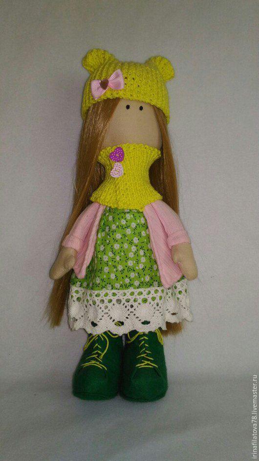 Куклы Тильды ручной работы. Ярмарка Мастеров - ручная работа. Купить Интерьерная текстильная кукла. Handmade. Кукла ручной работы