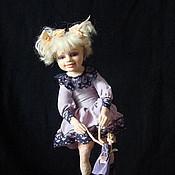 """Куклы и игрушки ручной работы. Ярмарка Мастеров - ручная работа Авторская кукла """"Давай потанцуем!"""". Handmade."""
