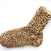 Аксессуары ручной работы. Ярмарка Мастеров - ручная работа носки шерстяные женские теплые. Handmade.