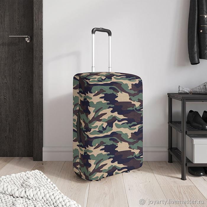 Чехол для чемодана «Армейский стиль» (S,M,L/XL), Сумки и аксессуары, Москва, Фото №1
