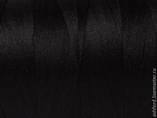 """Другие виды рукоделия ручной работы. Ярмарка Мастеров - ручная работа. Купить Нитки для ткачества""""Хлопко-Лён"""" - чёрный. Handmade. Черный"""